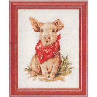Zählmusterpackung Schweinchen