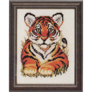 Zählmusterpackung Tigerbaby