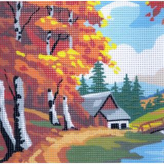 Sticktwist-Gobelin Herbst