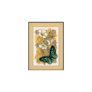 Zählmusterpackung Schmetterling 2