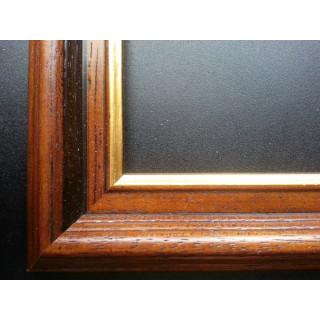 Sticktwist-Gobelin mit Holzrahmen Tunesierin, 30x40 cm