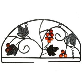 Stick-Wandbehang / Küchenbehang Herbst, inkl. Bügel
