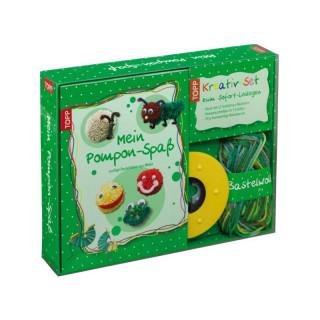Mein Pompon-Spaß - Kreativ-Set zum Sofort-Loslegen