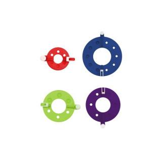PomPom-Maker, 4 verschiedene Schablonen im Set