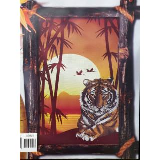3-D Zählmusterpackung Tiger