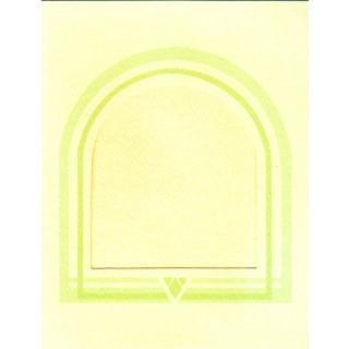 Zählkreuzstich-Grußkarte mit Umschlag Violets