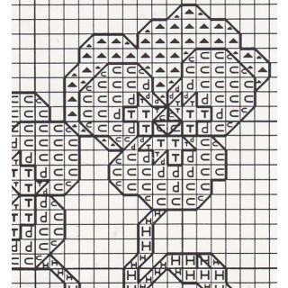 Zählkreuzstich-Grußkarte mit Umschlag Pansies