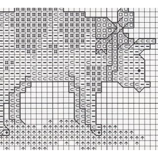 Zählkreuzstich-Stickpackung Hausschwein Karlchen