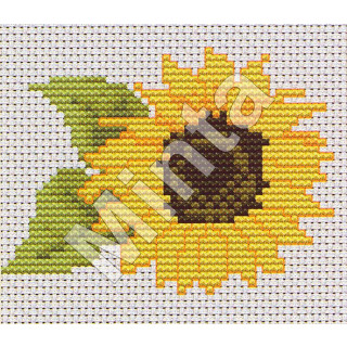 Luca- S Zählmusterpackung Sonnenblume
