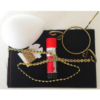 Ostereier-Stick- und Bastelpackung Osterei mit Arabeske