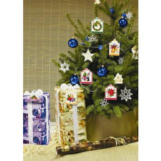 Geschenkanhänger / Baumanhänger Weihnachten, 9 Stück
