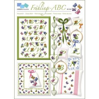 Musterbogen Frühlings-ABC