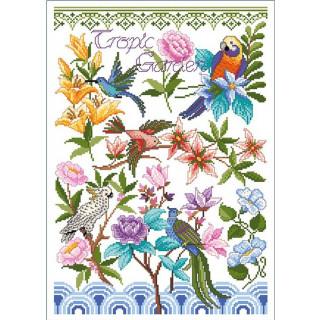 Musterbogen Tropic Garden