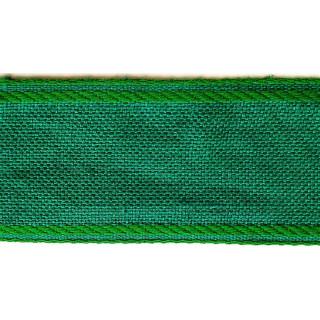 Leinenband, 4,5 cm breit, grün, 1 Meter