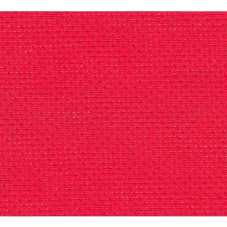 BASIX Aida-Stoffzuschnitt 80 x 80 cm, rot, 5,4 / cm (14 ct.)