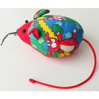 Nadelkissen Maus, ca. 8x6x5 cm