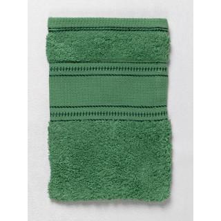 Waschhandschuh mit Aida-Einsatz, grün