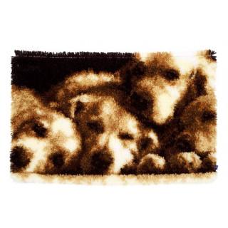 Knüpfteppich Hunde schlafen
