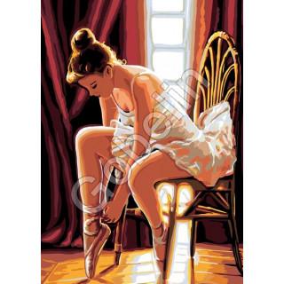 Sticktwist-Gobelin Ballett